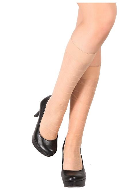 Pierre Cardin 4'Lü Desenli Dizaltı Çorap Renkli